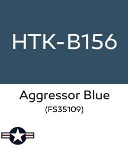Hataka B156 Aggressor Blue - acrylic paint 10ml