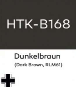 Hataka B168 Dunkelbraun - acrylic paint 10ml