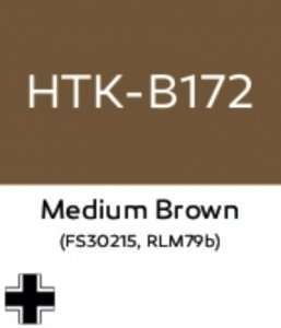 Hataka B172 Medium Brown RLM79b - acrylic paint 10ml