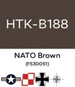 Hataka B188 NATO Brown - acrylic paint 10ml