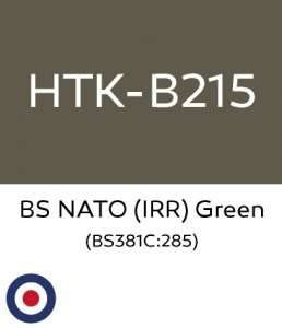 Hataka B215 BS NATO IRR Green - acrylic paint 10ml