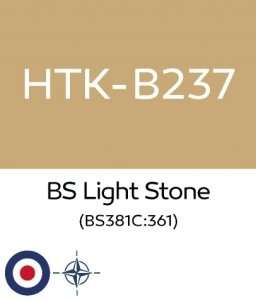 Hataka B237 BS Light Stone - acrylic paint 10ml