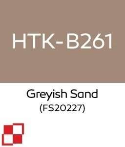 Hataka B261 Greyish Sand - acrylic paint 10ml
