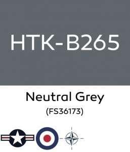 Hataka B265 Neutral Grey - acrylic paint 10ml