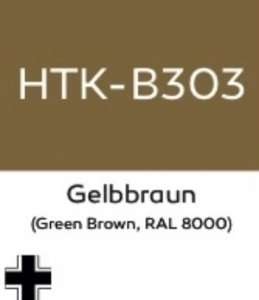 Hataka B303 Gelbbraun - acrylic paint 10ml