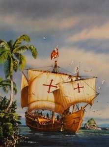 Heller 80816 Pinta - karawela z wyprawy Kolumba