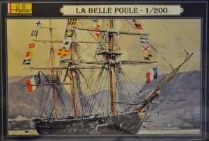 Model La Belle Poule scale 1-200