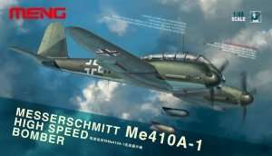 Meng LS-003 High Speed Bomber Messerschmitt Me410A-1 in scale 1-48