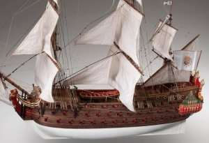 Nuestra Senora wooden ship model kit