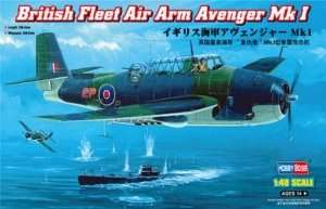 British Fleet Air Arm Avenger Mk I in scale1-48