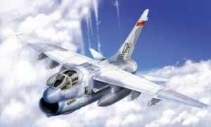 A-7D Corsair II model in scale 1-48