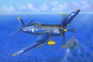 Vought F4U-5 Corsair model Hobby Boss in 1-48