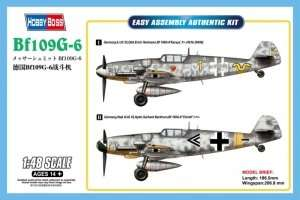Bf109G-6 in scale 1-48