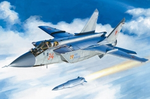 MiG-37BM w/KH-47M2 model Hobby Boss 81770 in 1-48