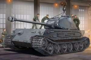 Hobby Boss 82445 German IIWW heavy tank VK4502 (P) Hintern