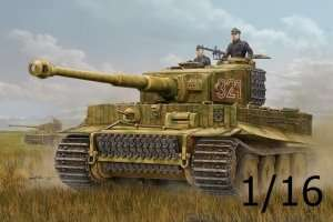 German tank PzKpfw VI Tiger in scale 1:16