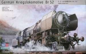German Kriegslokomotive BR52 in scale 1-72
