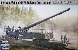 German 280mm K5(E) Railway Gun Leopold in scale 1-72