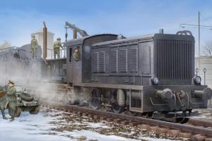 German WR360 C12 Locomotive model Hobby Boss in 1-72