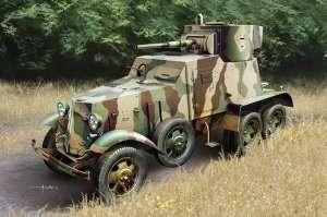 Soviet BA-6 Armor Car scale 1:35
