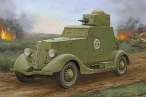 Model Soviet BA-20 Armored Car Mod.1939 Hobby Boss 83883