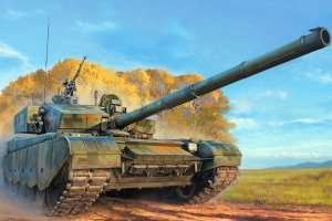 Tank PLA ZTZ-99A MBT in scale 1-35