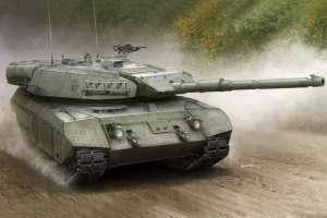 Leopard C2 Mexas Canadian MBT model Hobby Boss in 1-35
