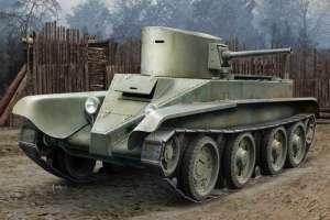 Soviet BT-2 Tank (early) model Hobby Boss 84514 in 1-35