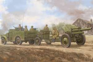 M3A1 late version tow 122mm Howitzer M-30 model 84537 in 1-35