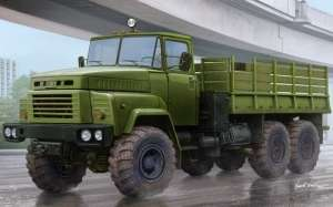 Russian KrAZ-260 Cargo Truck in scale 1-35