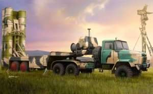 KrAZ-260B Tractor with 5P85TE TEL S-300PMU in scale 1-35