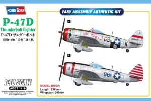 P-47D Thunderbolt model Hobby Boss 85811 in 1-48