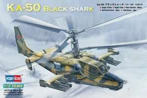 Ka-50 Black shark Attack Helicopter in scale 1-72