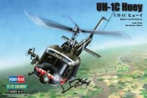 Helicopter UH-1C Huey in scale 1-72