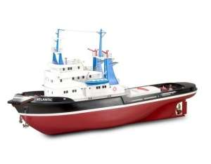 Wooden Model Ship Kit - Atlantic - Artesania 20210 RC Compatible