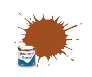 Tan Gloss - enamel paint 14ml Humbrol 009