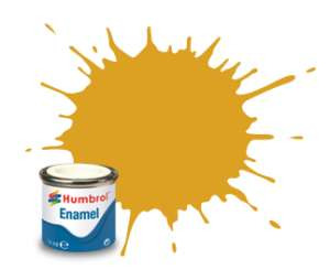 Gold Metallic - enamel paint 14ml Humbrol 016