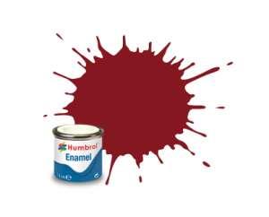 Crimson Gloss - enamel paint 14ml Humbrol 020