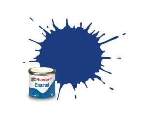 Blue Matt - enamel paint 14ml Humbrol 025