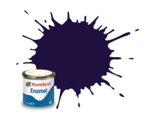 Purple Gloss - enamel paint 14ml Humbrol 068