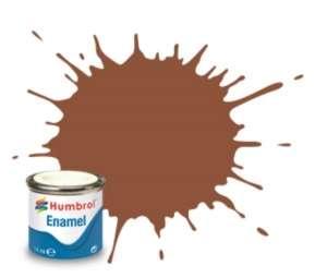 Brick Red Matt - enamel paint 14ml Humbrol 070