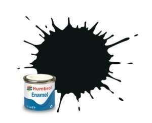 Black Green Matt - enamel paint 14ml Humbrol 091