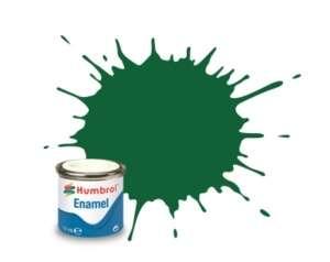 Light Green Matt - enamel paint 14ml Humbrol 120