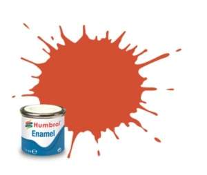 Red Satin - enamel paint 14ml Humbrol 132