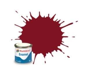 Brown Satin - enamel paint 14ml Humbrol 133