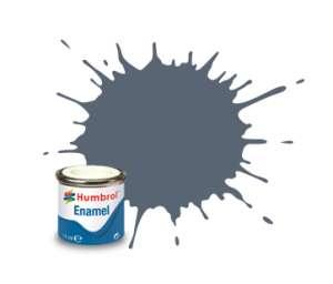 Intermediate Blue Matt - enamel paint 14ml Humbrol 144