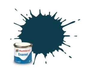 PRU Blue Matt - enamel paint 14ml Humbrol 230