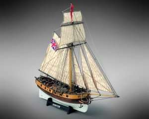 Hunter - Mamoli MV35 - wooden ship model kit