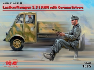 Lastkraftwagen 3,5 t AHN with German Drivers model ICM 35418