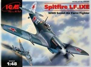 Spitfire LF.IXE WWII Soviet Air Force Fighter in scale 1-48